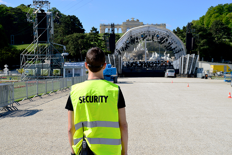 Cost Hiring Security For Event in Wrexham Clwyd